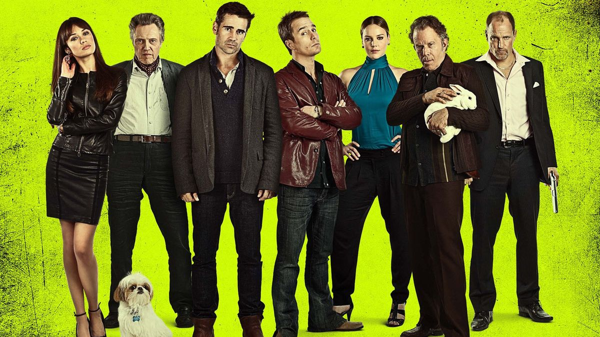 Seven Psychopaths Smart Comedy Movies